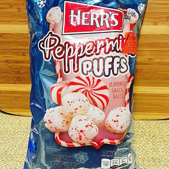 herr's peppermint puffs