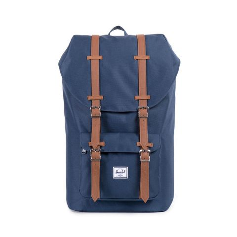 Bag, Backpack, Blue, Luggage and bags, Denim, Zipper, Satchel, Fashion accessory, Leather, Pocket,