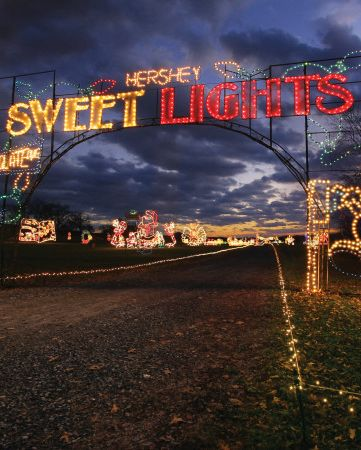 Hershey Sweet Lights Best Christmas Light Displays Near Me
