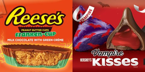 Halloween Candy Packaging 2020 Hershey's Halloween Candy 2020: Reese's Franken Cup, Vampire Kisses