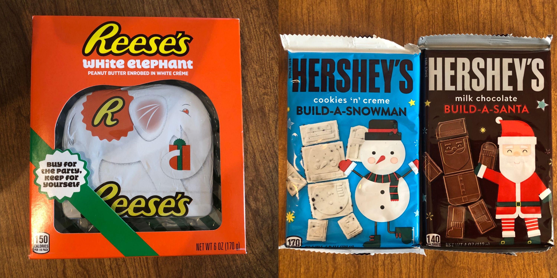 Hershey Chocolate Christmas 2020 Hershey's Holiday Candy Line 2020 — Reese's White Elephant, Sugar