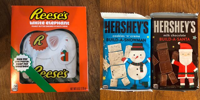 reese's and hershey's holidays line