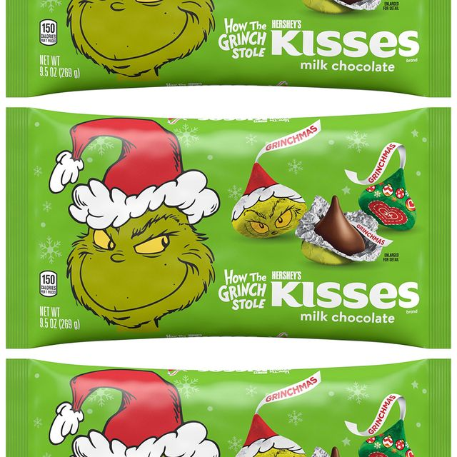 hershey's milk chocolate how the grinch stole christmas kisses