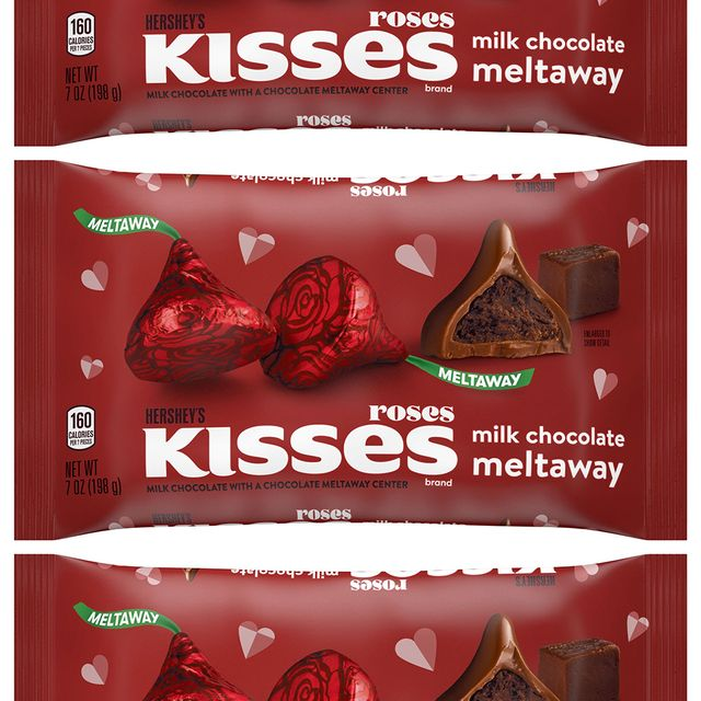 hershey's kisses meltaway roses valentine's day candy