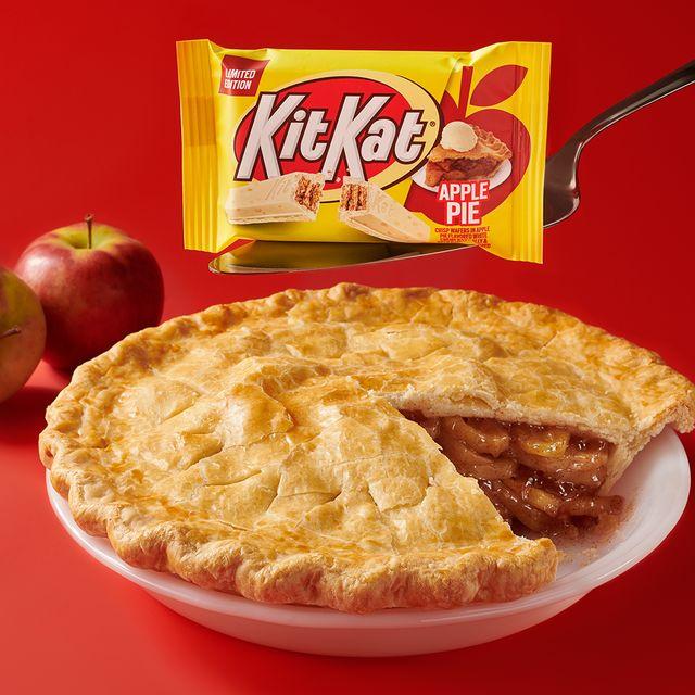 kit kat apple pie candy bar