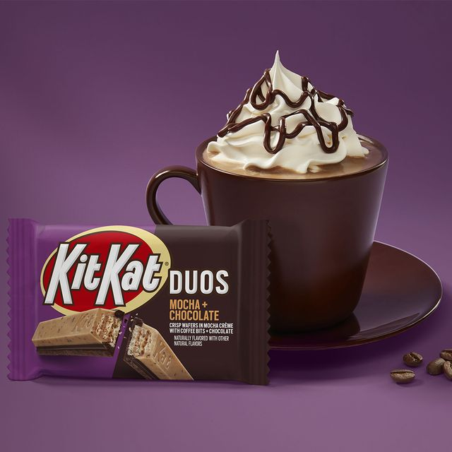 hershey's kit kat duos mocha  chocolate