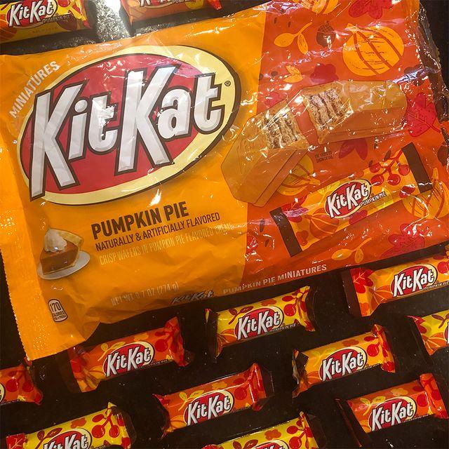 hershey's kit kat pumpkin pie halloween candy