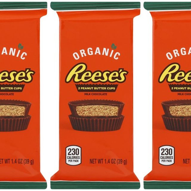 hershey's organic reese's peanut butter cups
