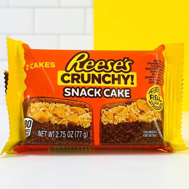 hershey's reese's crunchy snack cakes