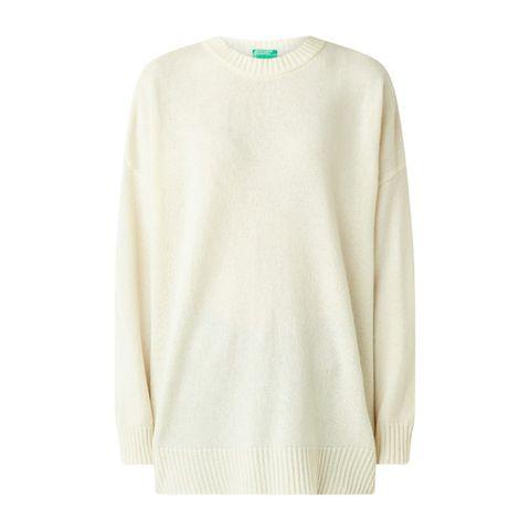 benneton gebreide trui