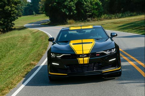 Hertz Renting 2020 Chevy Camaros with 480 or 750 HP