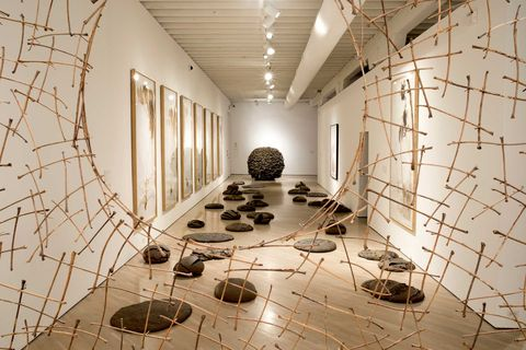 installation by andy goldsworthy