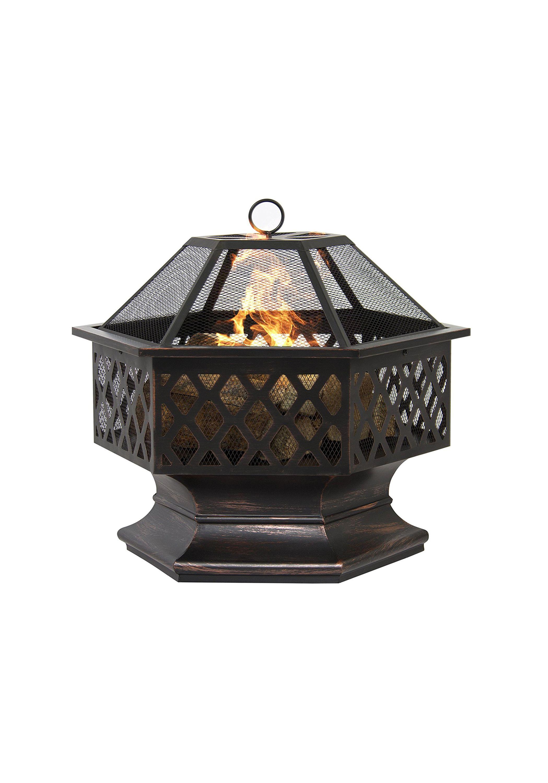 outdoor backyard fireplace