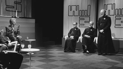 Tv-quiz Wie van de drie