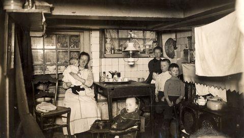 Keukens van vroeger