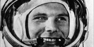 Op 12 april 1961 ging Joeri Gagarin de ruimte in.