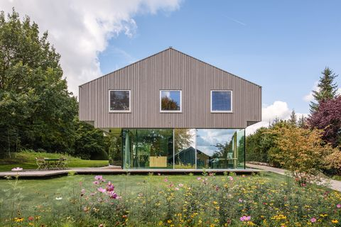 Case Di Montagna In Legno : La casa di montagna house h dello studio hhf architects