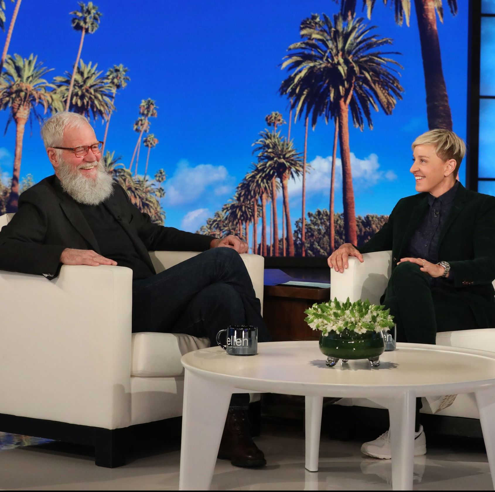 David Letterman Opens Up About Trump and Fatherhood on Ellen