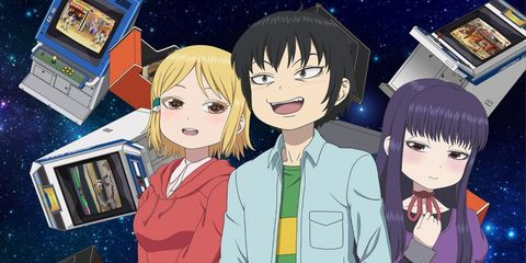 hi score girl netflix anime videojuegos