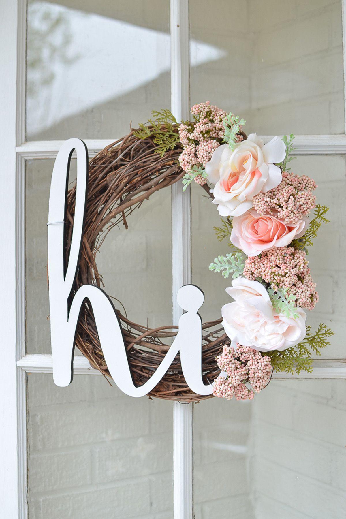 22 diy summer wreaths outdoor door wreath ideas for summer izmirmasajfo