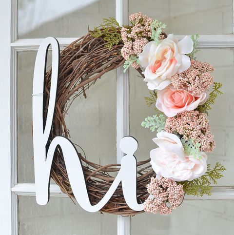 Hi Wreath - Summer Wreaths