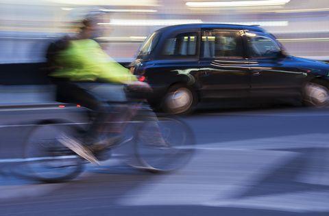 Hi-Vis Cyclist
