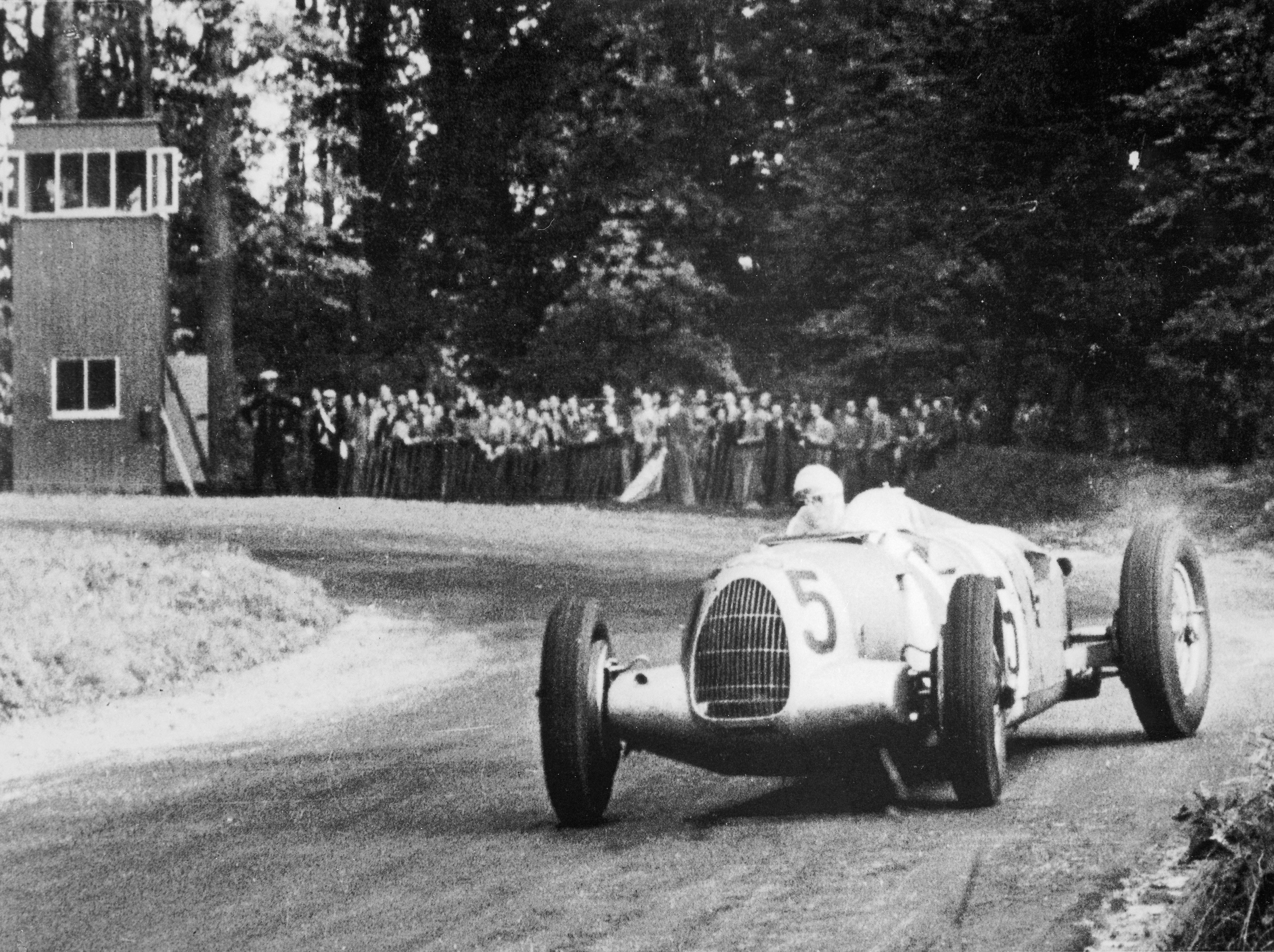 How a Bribe Saved an Auto Union Type C/D From Soviet Destruction