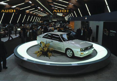 Land vehicle, Vehicle, Car, Auto show, Sedan, Coupé, Sports sedan, Compact car,