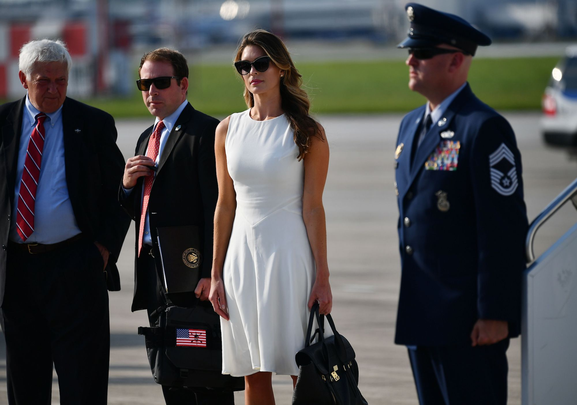 White House 'Instructs' Hope Hicks, Annie Donaldson Not to Comply ...