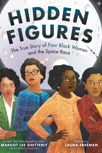 hidden figures nonfiction books for kids