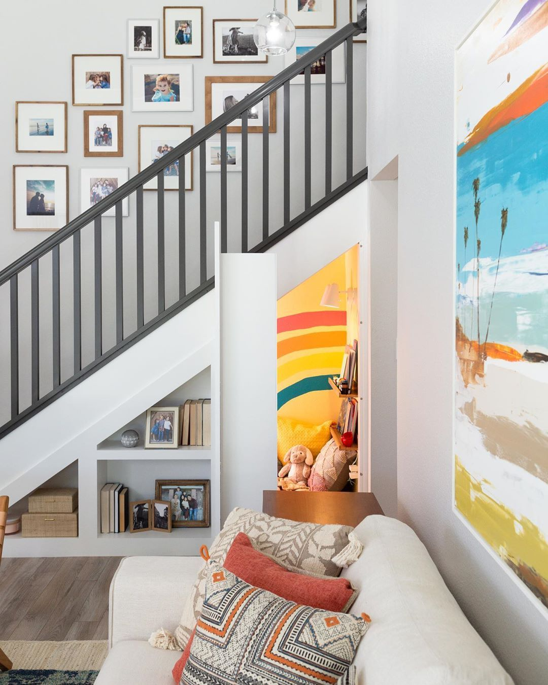 Hidden Potential Star Jasmine Roth Adds a Secret Twist to This Staircase