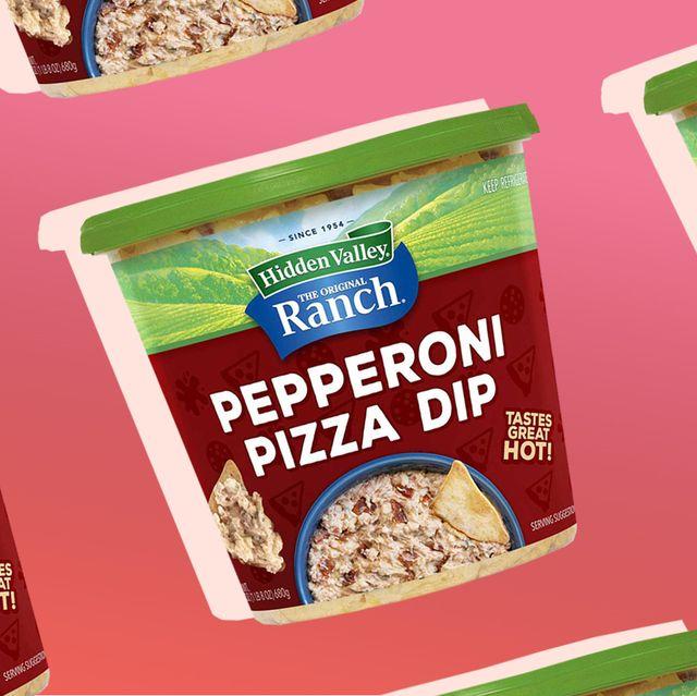 hidden valley ranch pepperoni pizza dip