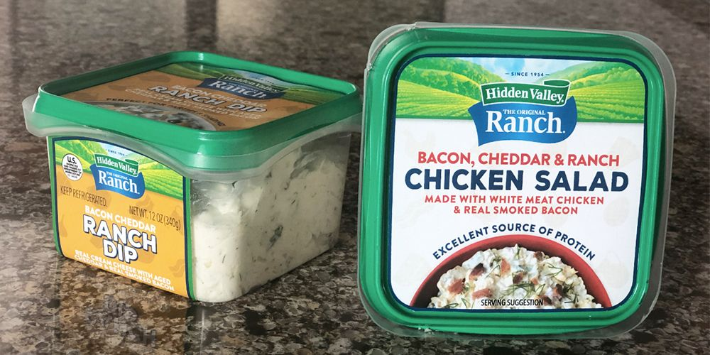 Hidden Valley Ranch Is Launching New Ready-to-Eat Chicken Salads and Dips in 2020