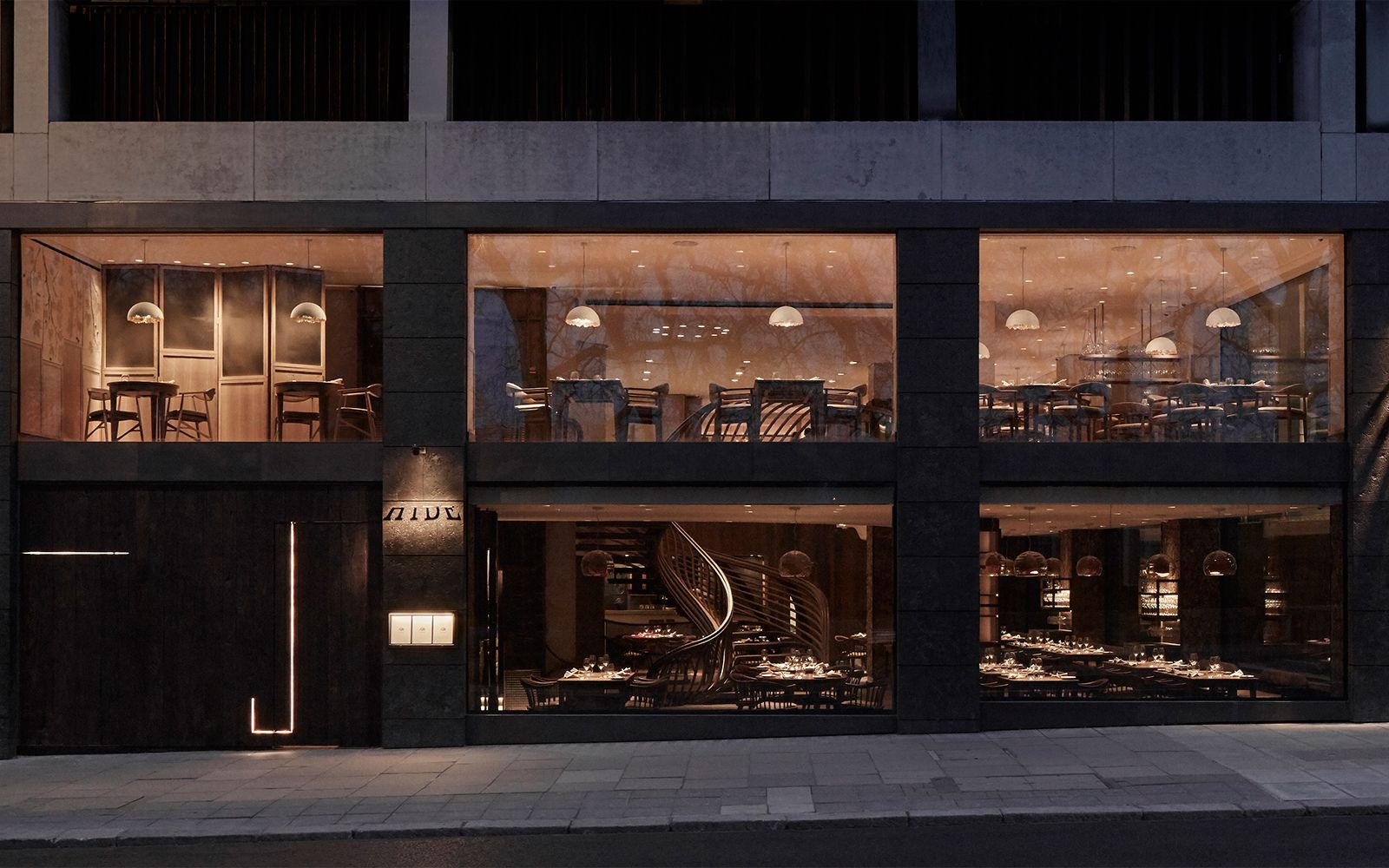 Hide restaurant, Ollie Dabbous, London