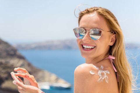 Hidratar la piel en verano