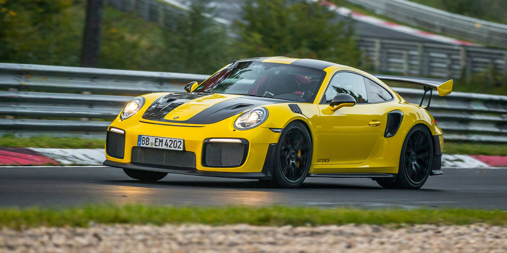 How the Porsche 911 GT2 RS Is So Fast at the Nurburgring