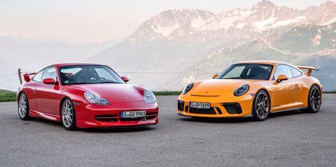 Land vehicle, Vehicle, Car, Automotive design, Sports car, Performance car, Supercar, Luxury vehicle, Porsche, Porsche 911 gt3,