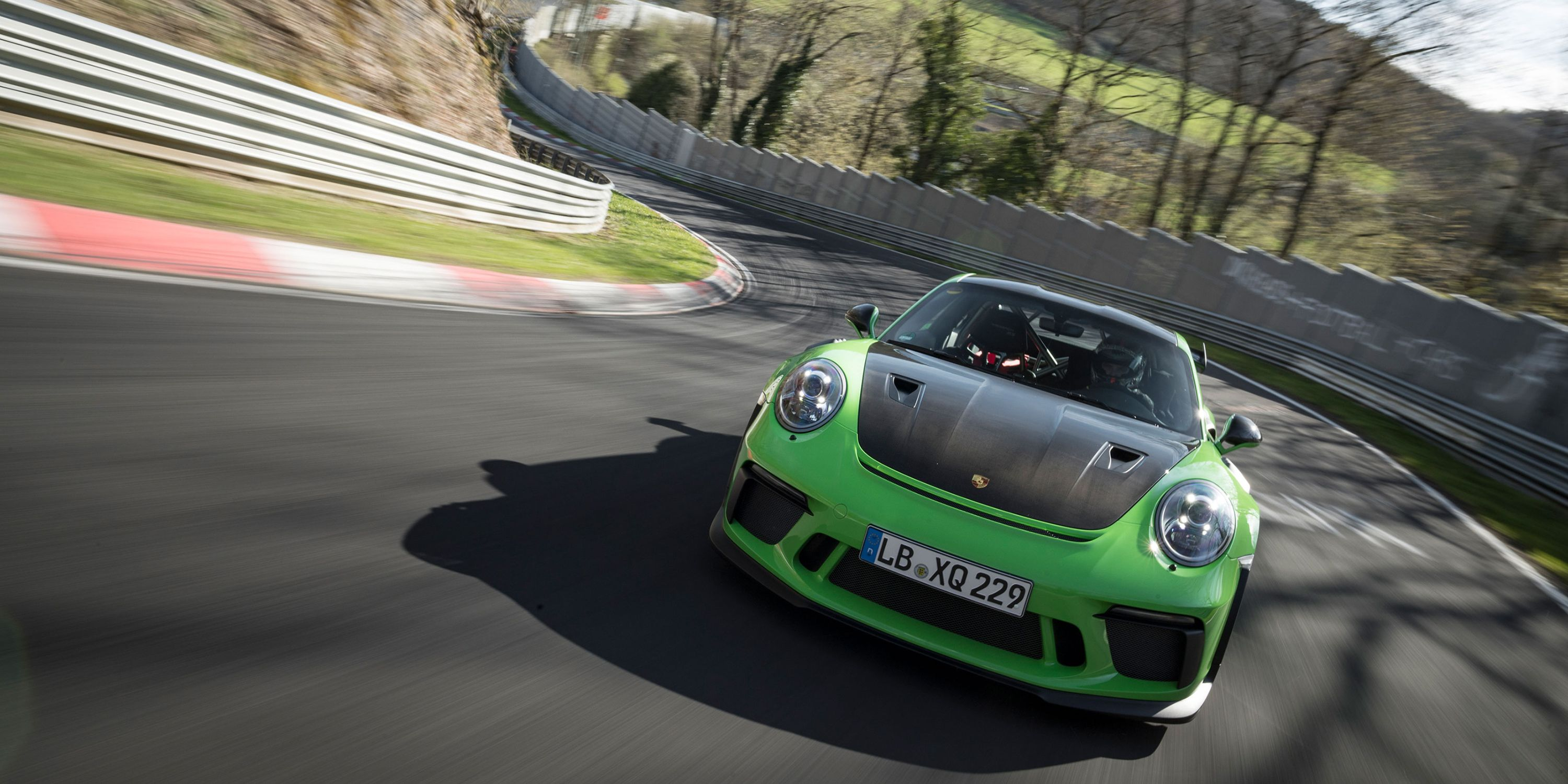 Corvette Engineers Let Porsche Use Their Nurburgring Session To Set A Gt Rs Lap Time