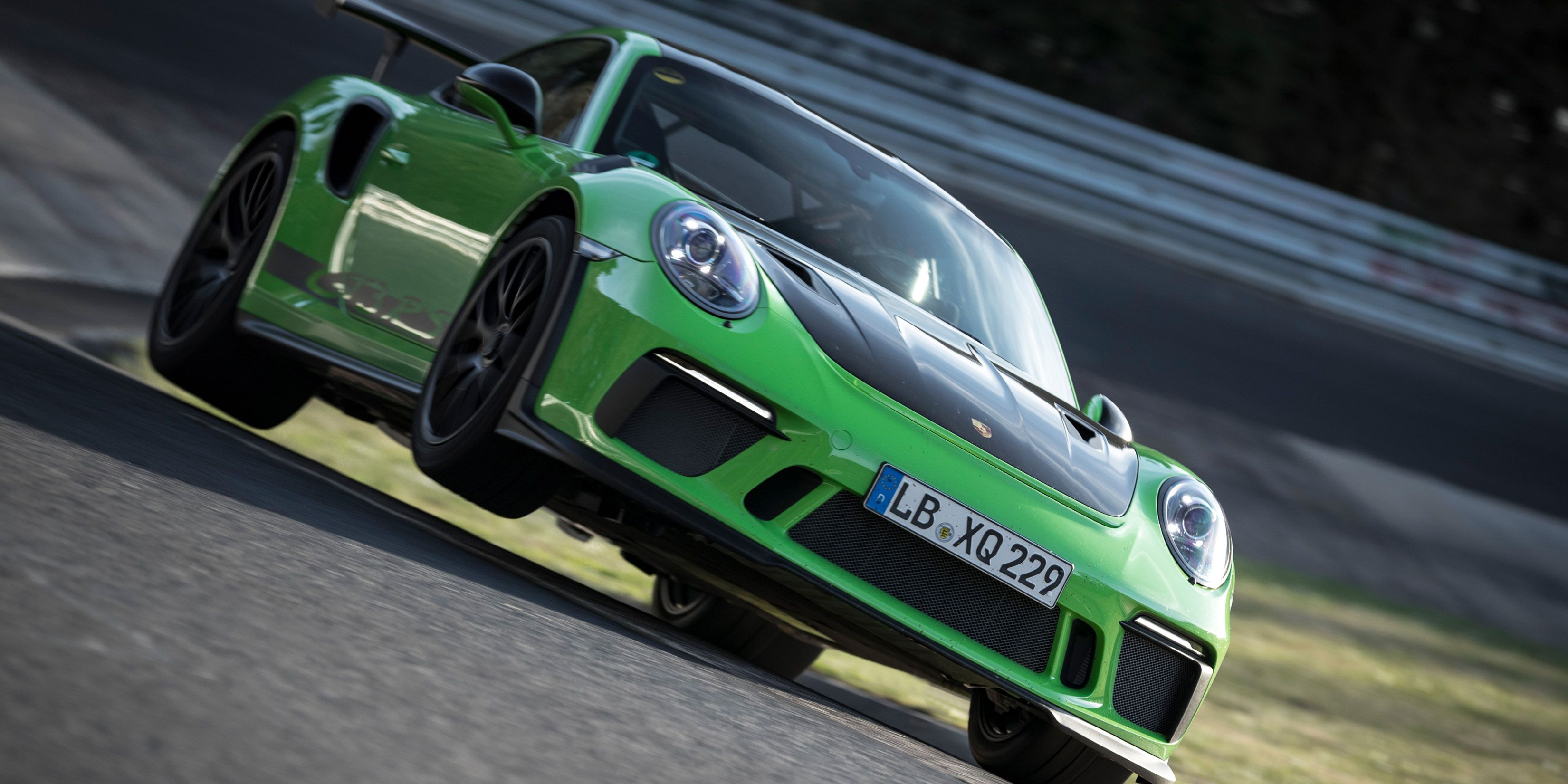 The 2019 Porsche 911 GT3 RS Just Ran a 6:56.4 at the Nurburgring