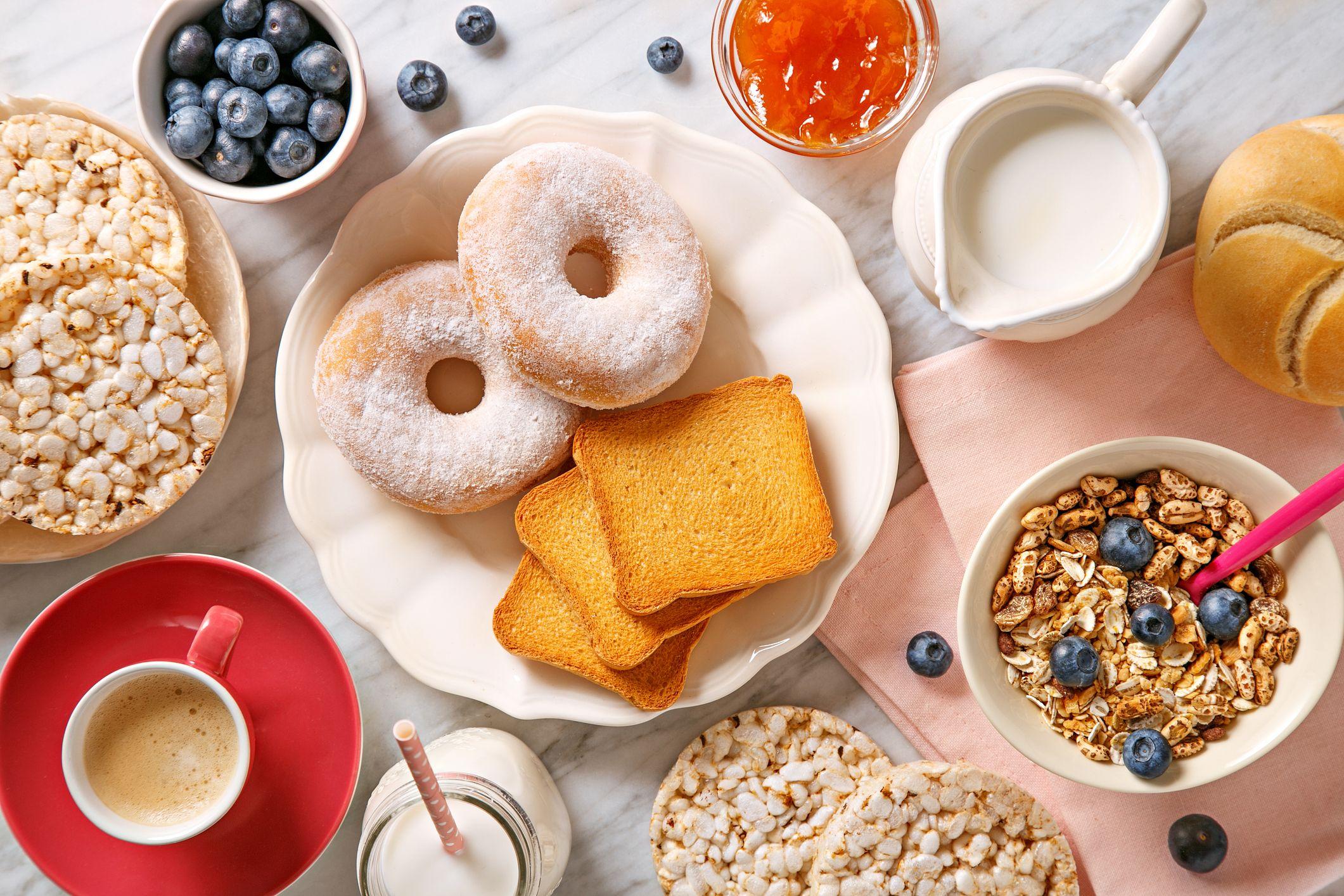 La mitad de los alimentos que tomamos en el desayuno son ultraprocesados