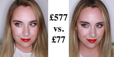 high end vs cheap makeup review