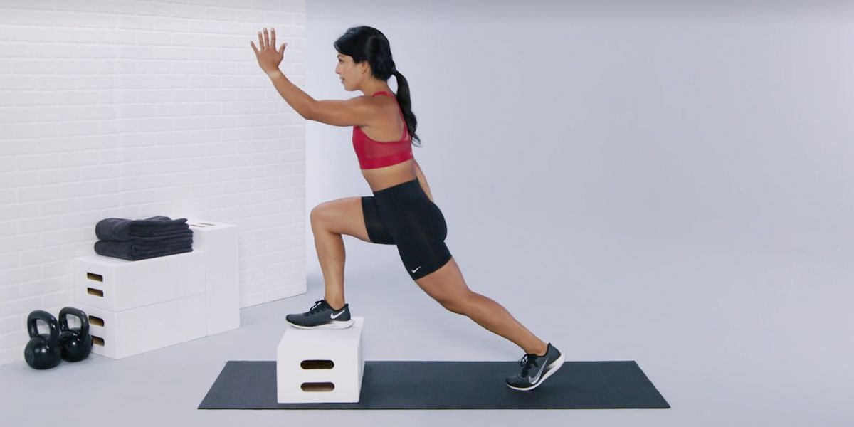 This High-Energy Home Workout Will Help You Build Explosive Strength