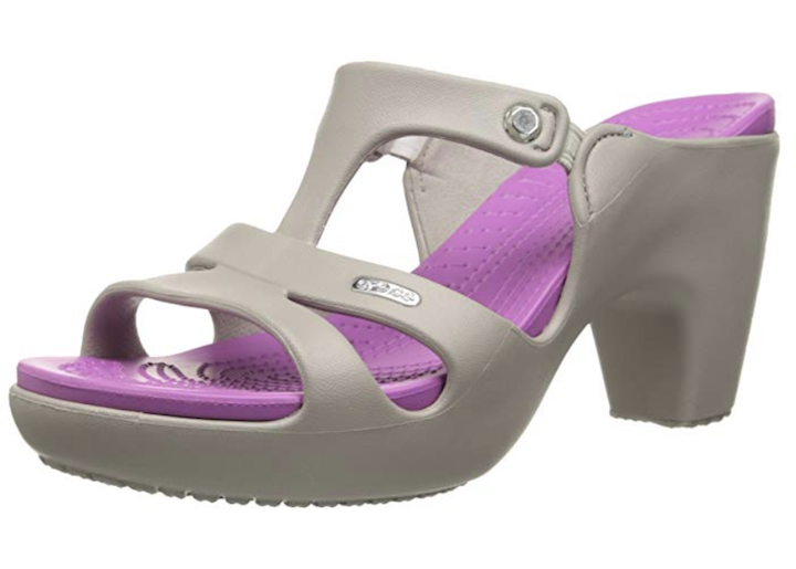 High-Heeled Crocs Exist and They're