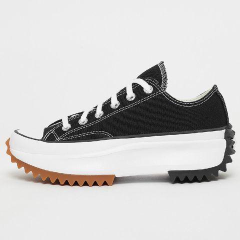 high platform sneakers converse met witte track zool