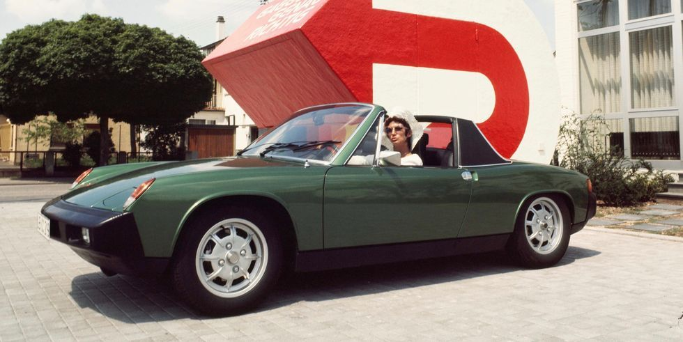 Celebrating 50 Years of the Porsche 914