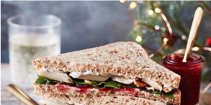 Highest ProteinChristmas Sandwich
