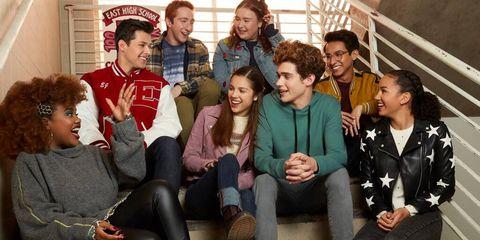el elenco de high school musical the musical the series