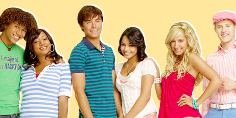 Zac Efron And Vanessa Hudgens High School Musical 1