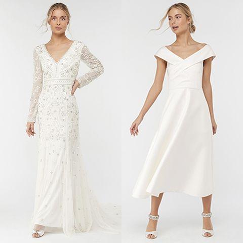 17aae3222880 18 high street wedding dresses you'll love - high street brands that ...
