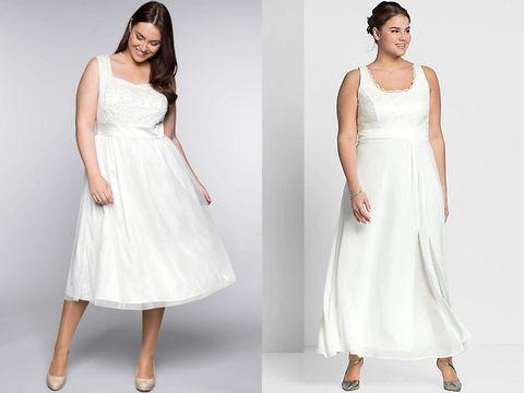 high street wedding dresses plus size